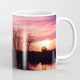 Pink Sky at Dusk Coffee Mug