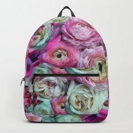 Romantic flowers I Backpack