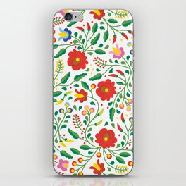 Hungarian Matyo Embroidery iPhone Skin