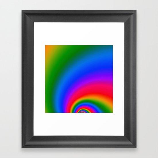 Magic Rainbow Framed Art Print