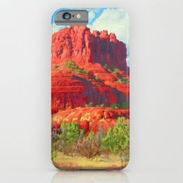 Big Bell Rock Sedona by Amanda Martinson iPhone Case