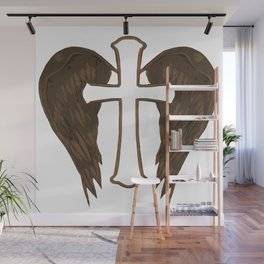 Angels Watching over us Wall Mural