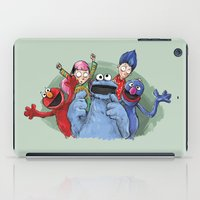 cookie monster iPad Cases featuring cookie monster by ErsanYagiz