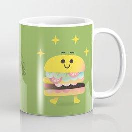 Dancing Burger Coffee Mug