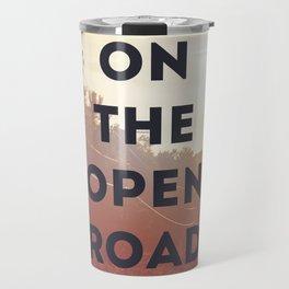 on the open road. Travel Mug