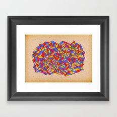 - eighties - Framed Art Print