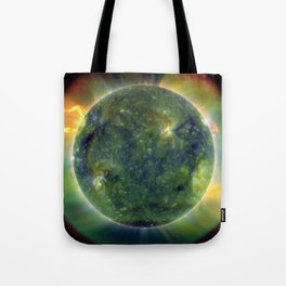 Images from Sun's surface Tote Bag