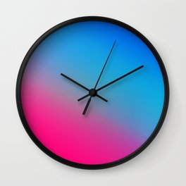 Ombré Colorful Multicolor Gradient / GFTgradient022 Wall Clock