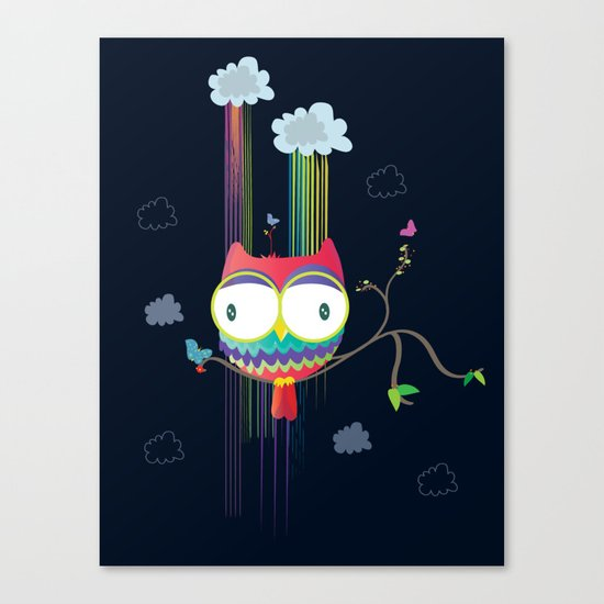 Colorfowl Canvas Print