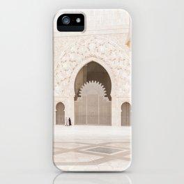 Hassan II Mosque - Casablanca II iPhone Case