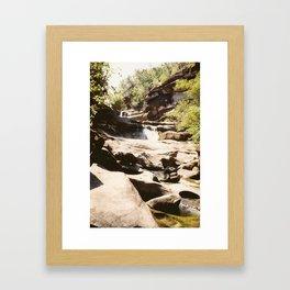 Ubon Ratchathani TH - Waterfalls I Framed Art Print