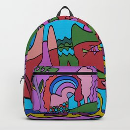 World Dance - We are all One World Backpack