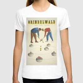 Vintage poster - Grindelwald T-shirt
