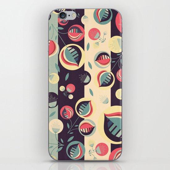 50's floral pattern II iPhone & iPod Skin