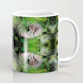 Flowers Fractal Pattern Coffee Mug