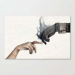 Dirtyhands and The Wraith Canvas Print