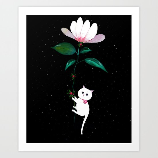 Myrtle in Space Art Print