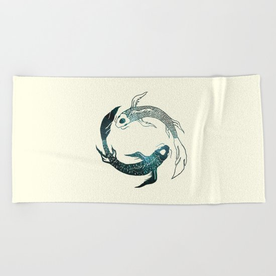 Balance in the Universe Beach Towel