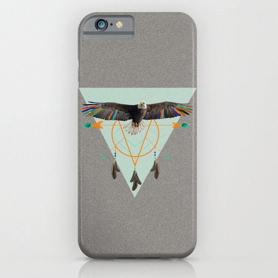 The indian eagle is watching over Po's dreamcatcher iPhone & iPod Case