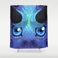 Lady Grey Shower Curtain