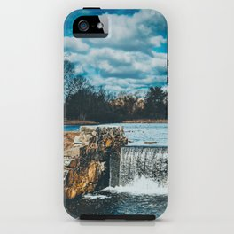Waterfall afternoon iPhone Case
