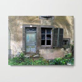abandoned Metal Print