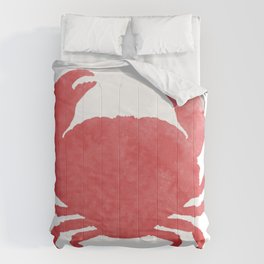 Watercolor Crab Comforters