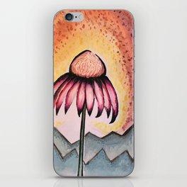 Cone Flower iPhone Skin