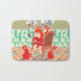 A Day To Idle And Daydream Bath Mat