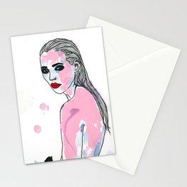 Zehn Mädchen. Stationery Cards
