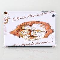 mozart iPad Cases featuring Mozart & Salieri by MENAGU'