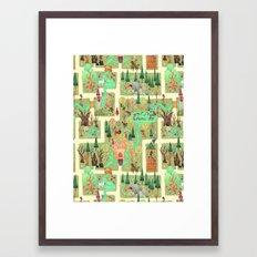 The Enchanted Forest  Framed Art Print