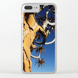 NAMIBIA ... Quiver Tree Clear iPhone Case