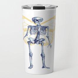 Skeleton Fairy Travel Mug