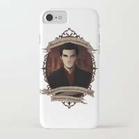 buffy the vampire slayer iPhone & iPod Cases featuring Angel - Angel/Buffy the Vampire Slayer by muin+staers