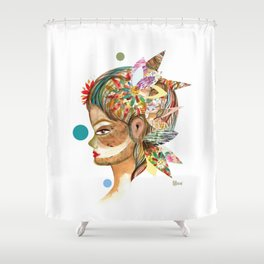 Equilibrio Shower Curtain