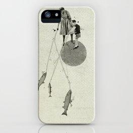 April | Collage iPhone Case