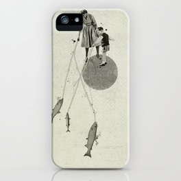 April | Collage iPhone Case