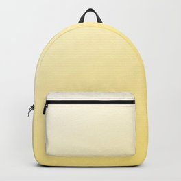 Canary Yellow Sunset Ombre Sun Pattern Backpack