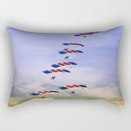 RAF Falcon Stack Formation Rectangular Pillow