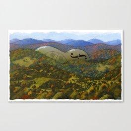 Mountain Music Canvas Print