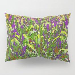 FIELD GRASS ABSTRACT Pillow Sham