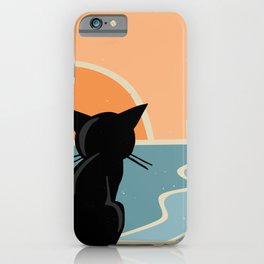 See the sea iPhone Case