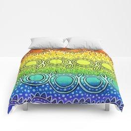 Rainbow Doodle Comforters