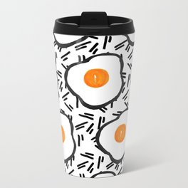 Eggs Metal Travel Mug