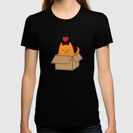Cat in a box T-shirt