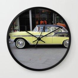 1956 Chevrolet Bel Air Wall Clock