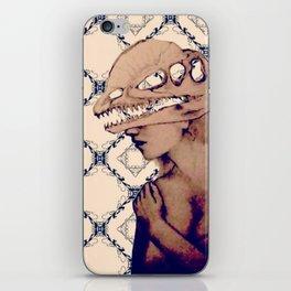 obscure deeno skull iPhone Skin