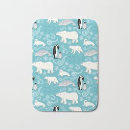 Artic Winter Wonderland Bath Mat