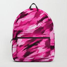 Hot Pink Designer Camo Backpack